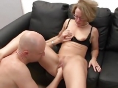 Aged German Secretary Fucked & Fisted