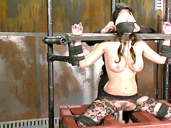 dame Machine humped perplexed And Gagged