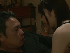 Autumn - big tits asian sex with dad