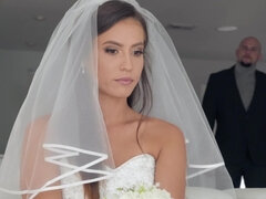 Kelsi fucks officiant just before wedding
