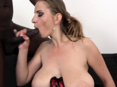 Big-breasted Lara Ann Takes a BBC in Every Hole