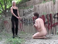 Princess Paris humiliate slaves