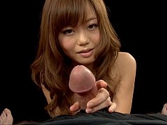 Point of view JAV handjob and assjob