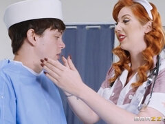 "Young Sailor And Horny MILF At Brazzers ""The Navy Nurse"""