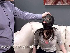 violent anal invasion and ass to facehole while being caned