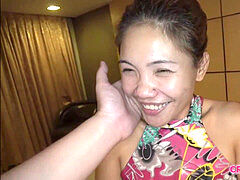 short Filipina internal cumshot mummy