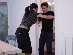 Hardcore Shades - Deluxe Spanish sex romp with hot pretentious brunette broad Julia De Lucia