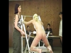 100 Hard Strokes of the Cane for Unlucky Prisoner
