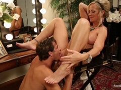 MILF Cougar With Sweaty Feet!