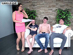 three Studs Take Care For a Fit girl Agent