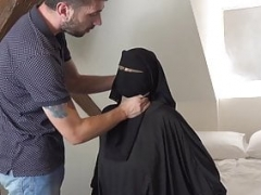 Muslim female gets punished by angry husband