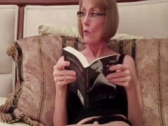 Inexperienced GILF Is A Sex Addict