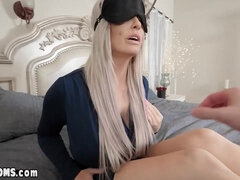 Horny son using blindfolded MILF stepmom - Brooke haven