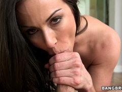 Hot Big Tit Kendra Lust Gives A Great BlowJob
