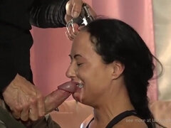 Free HD clips of large cocks fucking girls' throats