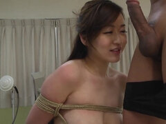 Doctor doesn't care Asian's BF is behind the door and fucks her