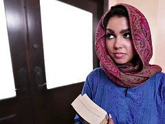 Arab adult entertainment with shy eastern virgin Ada & creampie