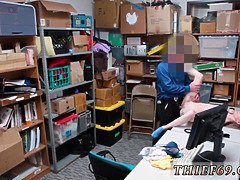 Teenager fucks in backroom