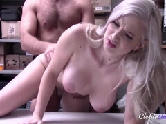 She gets compelled ravaged by security- Emily Right