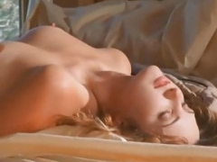 Renee Rea gets down and dirty in the country house.