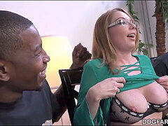 mummy babe Kiki Daire Gets Interviewed at DogFart