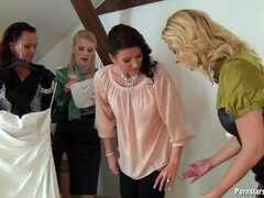 Pissing All Over Celine's Bridal Shower Part 1