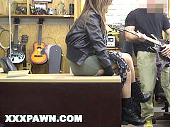 XXXPAWN - goth Rocker Chick Needs prompt Money, You Know How That heads