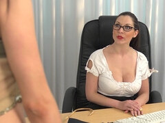 Megan is a slutty secretary