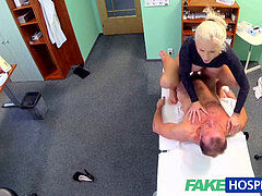 FakeHospital dirty doc pulverizes busty blonde porn star