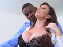 BBC for teacher floozy Sara Jay satisfies her muff