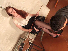 red super-steamy spanking paddle