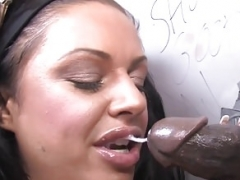 Kerry Louise Deepthroats & Bangs BBC - Gloryhole