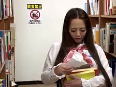 Hitomi Tanaka force to nailed in The Library