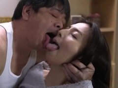 Cheating Japanese wife sex video