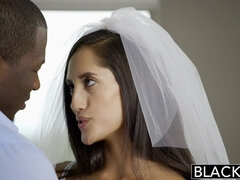 BLACKED Chloe Amour wedding night sex