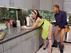 Aroused Housewife craves BBC