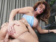 Juicy looking Deauxma licked and fucked hard