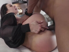 Busty mom pornstar Kendra Lust gets fucked by black stud Isaiah Maxwell