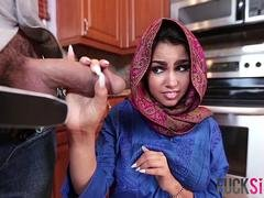 Ada Sanchez in Cream Filled Middle Eastern Cutie pie