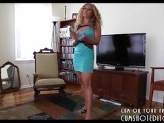 Aroused Stepmother Loves Flag pole POV