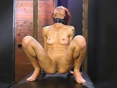 Redhead struggling with punishments