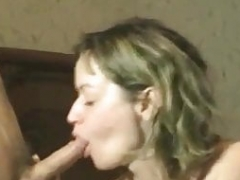 First-class Hot Wife Works a Cum cannon