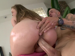 Bubble butt slut Madison Chandler fucked by a big cock
