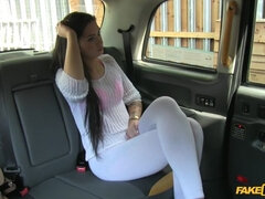 Hot Babe Can't Pay for her Cab Ride