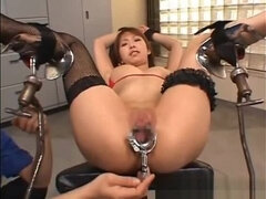 Charming oriental female featuring beautiful fetish sex video
