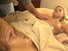 AMWF platinum-blonde Nathaly fumbled and creampied