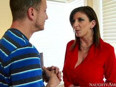 Sara Jay,Mr. Pete Seduced By A Cougar