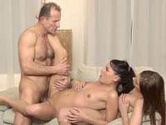 DADDY4K. Youthful with ease lure aged daddy to have an intercourse their cum buckets