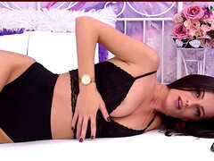 sumptuous damsel Wearing black Stockings and Teasing so hard [LiveJasmin Babes]