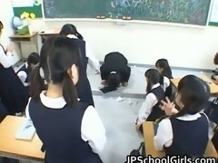 Asian students in the classroom are part3